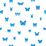 Repeatable Blue Butterlies