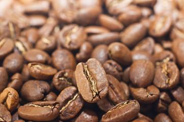 Kaffeebohnen Makroaufnahme
