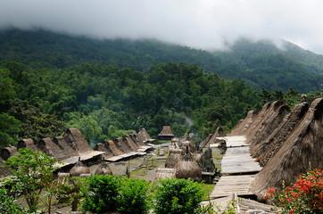 Ethnic village in Indonesia
