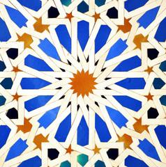 Arab mosaic tiles, stars