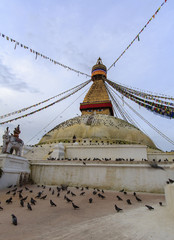 grande stupa katmandou