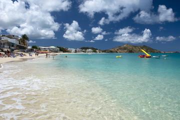 Grand Case beach, Saint. Martin