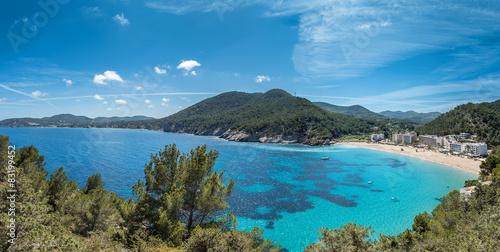 Cala De Sant Vincent Ibiza Spanien