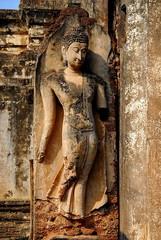 old wall Sukhothai