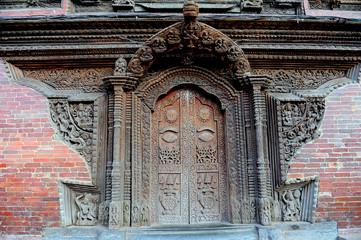 Porte de temple hindou