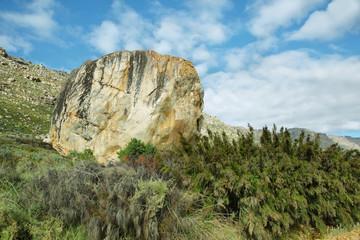 Big stone in Cederberg