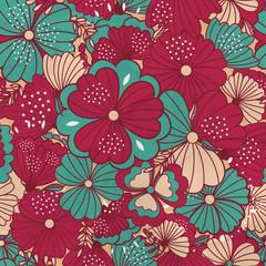 Sample floral background