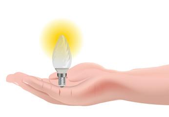 lampadina a goccia