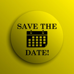 Save the date icon