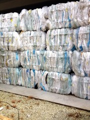 riciclaggio plastica
