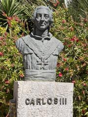 busto en cartagena de carlos III