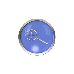 Button Blau - Lupe plus