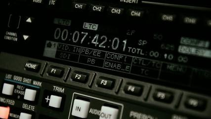 Professional video recorder. Format Betacam.