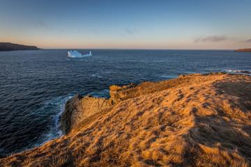 Iceberg off the coast of Newfoundland and Labrador