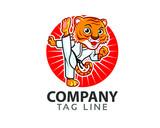 Taekwondo Tiger Logo