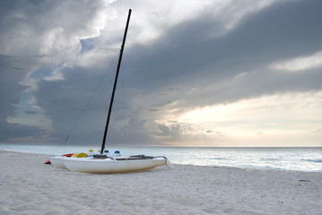 Catamarans on the Beach in Varadero Cuba