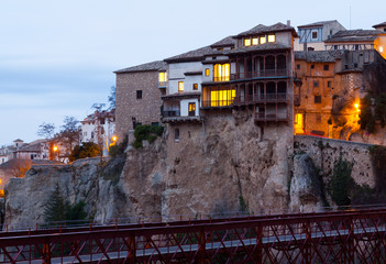 dawn view of  Cuenca