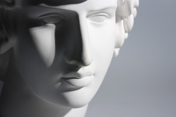Гипсовая голова Антиноя