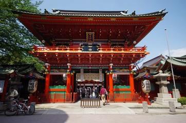 神田明神の門