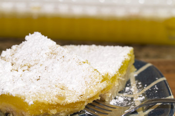 Serving of Lemon Bars