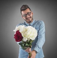 Nerd flowers bouquet