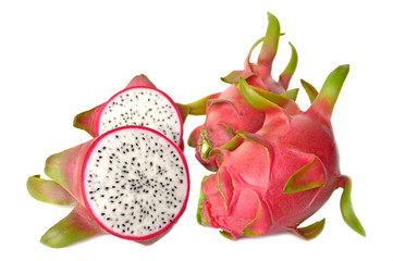 Dragon fruit, Hylocereus undatus, Central of Thailand