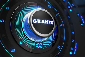 Grants Regulator on Black Control Console.