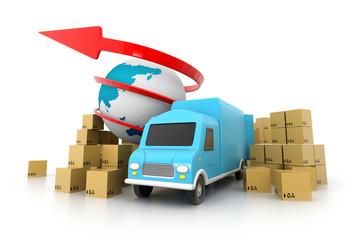 World wide cargo transportation