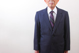 old japanese male businessman