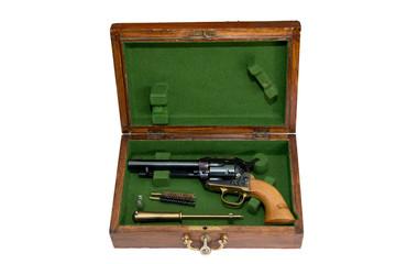 Pistole con scatola