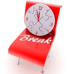 time to rest,break