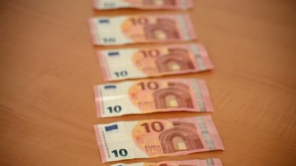 New Ten Euro Bills