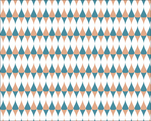 geometric vector pattern-pastel color art