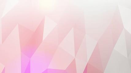 Bewegter Hintergrund aus großen Dreiecken