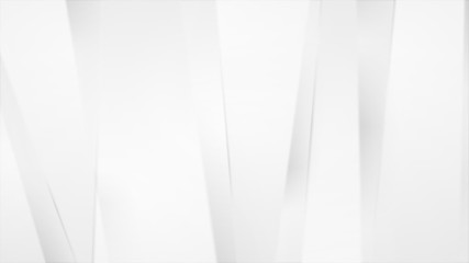 Abstract grey light moving stripes animation