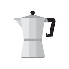 Coffee percolator vector illustration