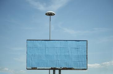 cartellone pubblicitario vuoto