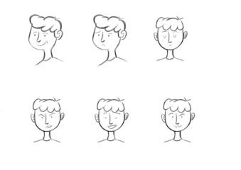 Expression of a boy