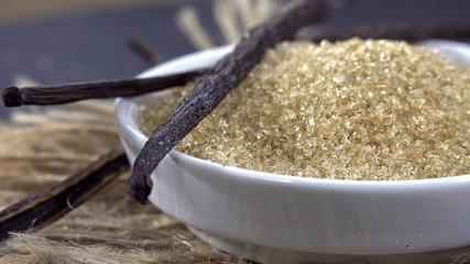 Portion of Vanilla Sugar (seamless loopable)