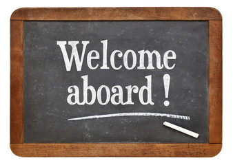 Welcome aboard on blackboard