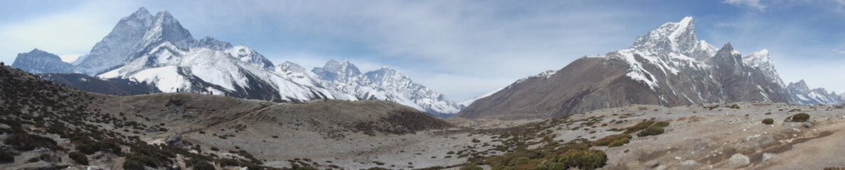 Landscape view in Khumbu Valley, Nepal