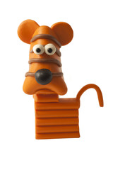 Plasticine Horoscope Tiger