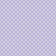 Tile vector pattern white polka dots on pastel violet background