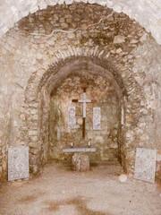 Retro look Punat Basilica