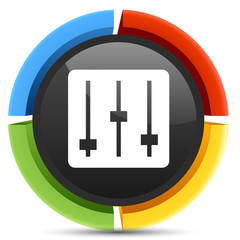 mp3 equalizer  icon