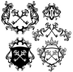 key heraldry set