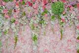 Fototapety Background of Beautiful flower wedding decoration