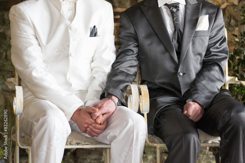 Poster Les mariés
