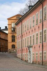 Old town in Stockholm. Sweden