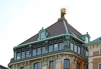 Old building in Stockholm. Sweden